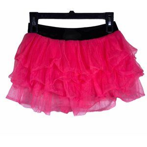 Claire's Pink Elastic Skirt M Girl